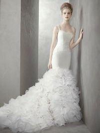 Свадебное платье от Веры вонг, коллекция 2012