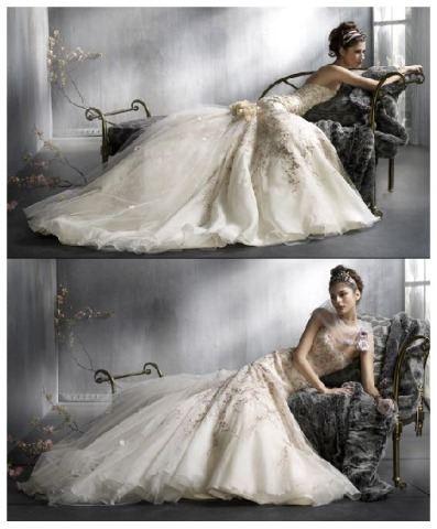 Эксклюзивные свадебные наряды.