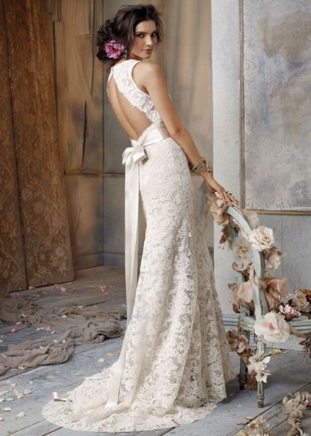 Vintage Inspire Bridal Dresses RetroClassic Gowns for