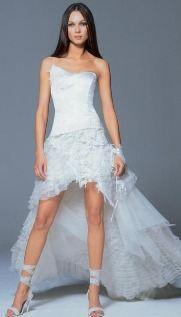 Смешные и креативные свадебные платья