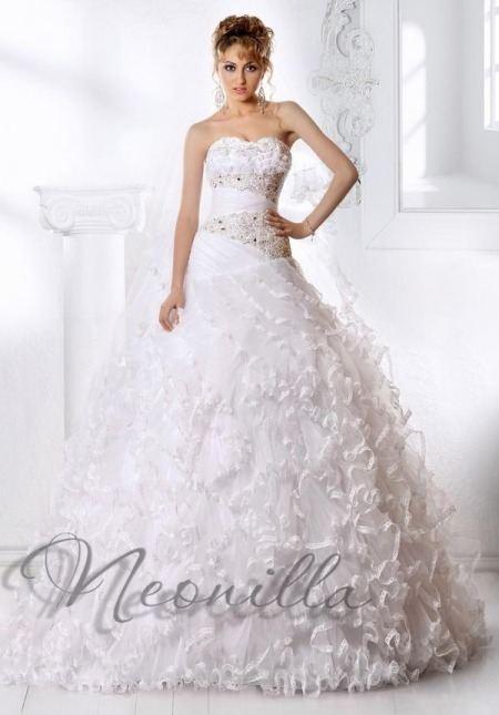Кружевные свадебные платья