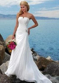 Современное свадебное платье для