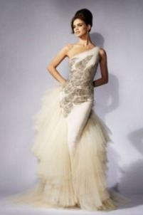 Идеи прикольных свадебных платьев. Оригинальное свадебное платье от Версаче