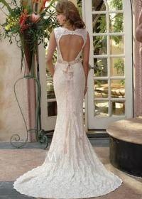 Свадебные платье с красивой спиной
