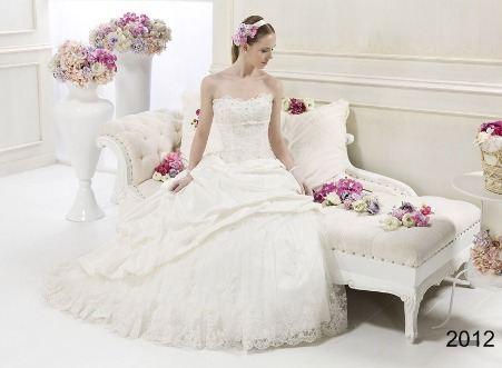 самые стильные свадебные платья 2012.