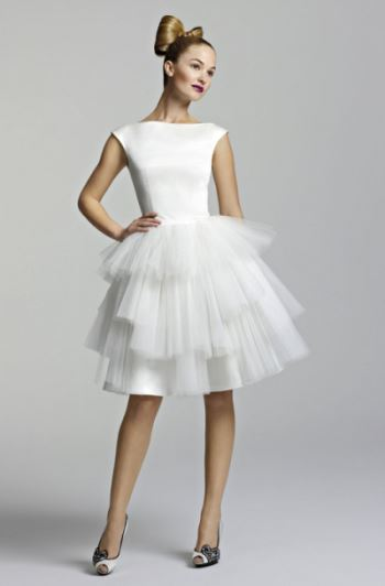 платье трапеция в стиле 60-х фото