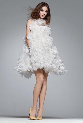 Платье в стиле 60-х в форме трапеции.