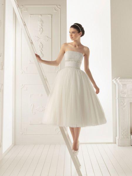 Свадебное платья для низких девушек