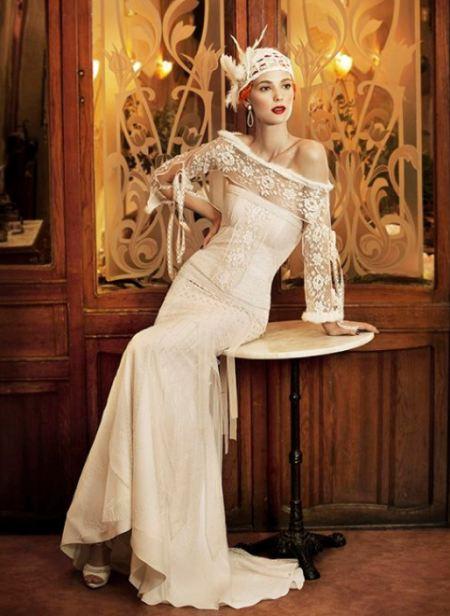 Свадебные платья с болеро