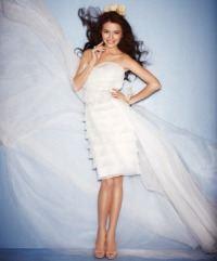 Свадебные платья с открытыми ногами и