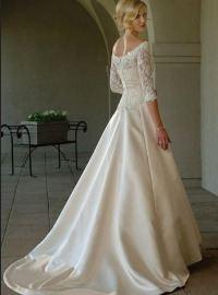 Свадебные платья: фасоны | трапеция
