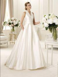 Свадебное платье стиль шанель