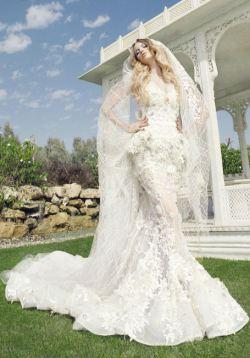 Свадебные платья от versace